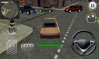 Screenshot of Crazy City Parking King 3D