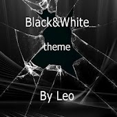 Black theme GO Launcher Ex