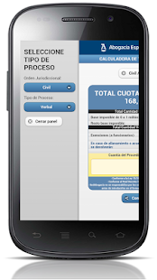 Calculadora Tasas Judiciales- screenshot thumbnail