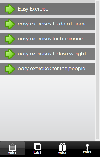 Easy Exercise Tips - screenshot