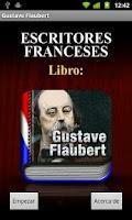 Screenshot of AUDIOLIBRO: Gustave Flaubert