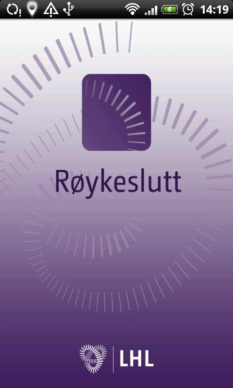 Røykeslutt - screenshot