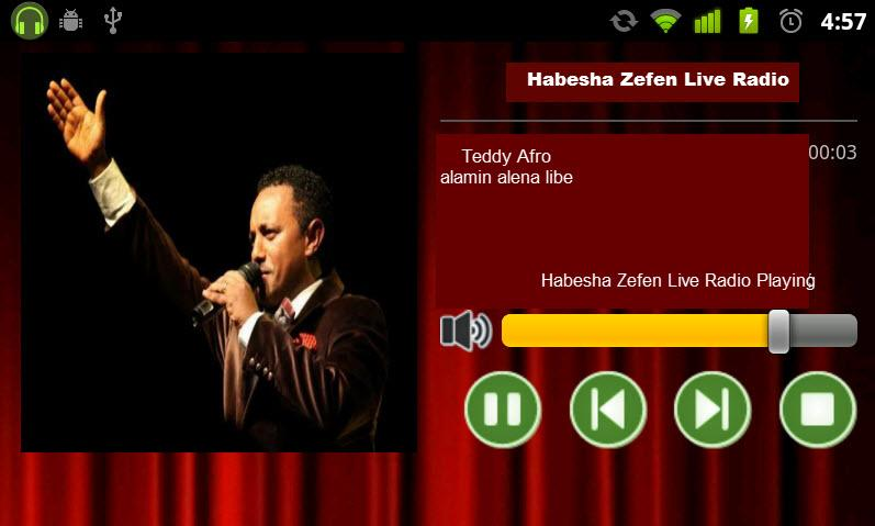 Habesha Zefen Live Radio- screenshot