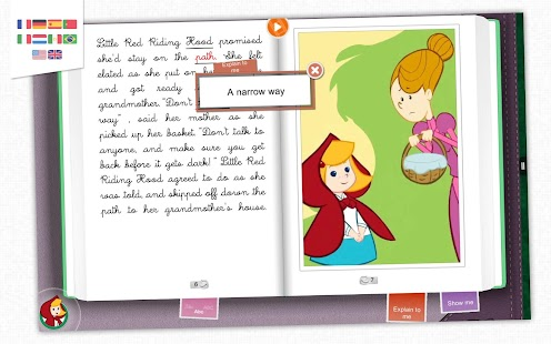 Little Red Riding Hood - Book- screenshot thumbnail