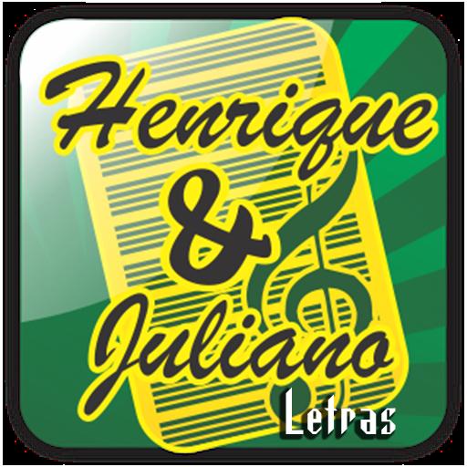 Henrique & Juliano Letras LOGO-APP點子