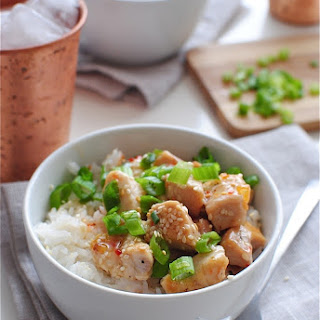 Sweet Chili Chicken with Coconut Rice