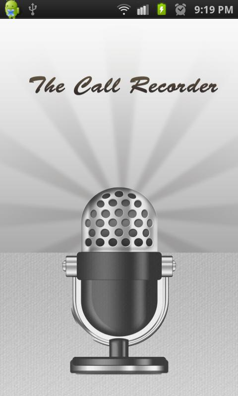 The Call Recorder - screenshot