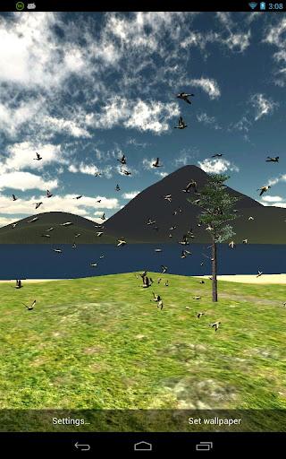 Bird Flight Live Wallpaper