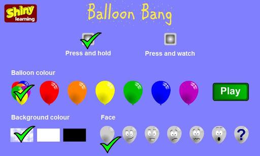 Balloon Bang - Shiny Learning