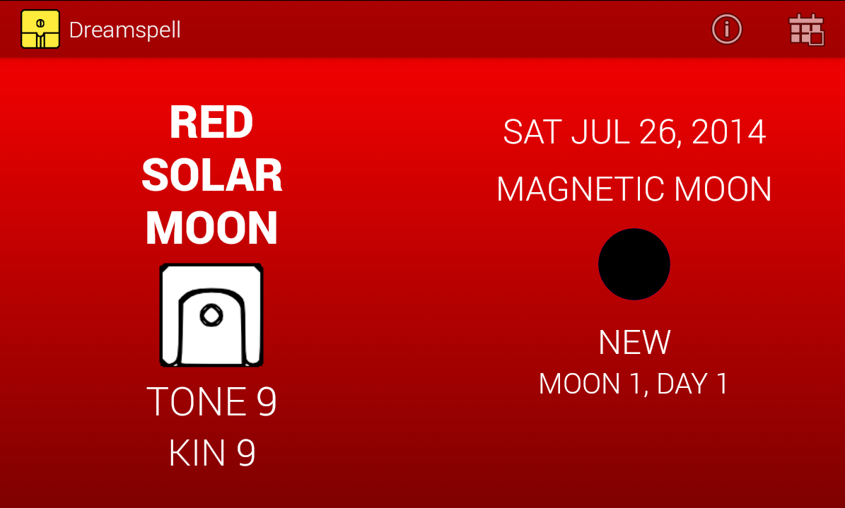 Dreamspell & Lunar Calendar- screenshot