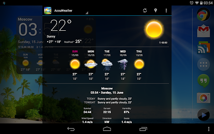 Weather Now Forecast & Widgets Screenshot 18