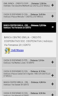 Cerca Bancomat - screenshot thumbnail