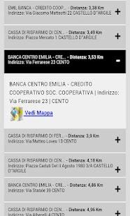 Cerca Bancomat- screenshot thumbnail