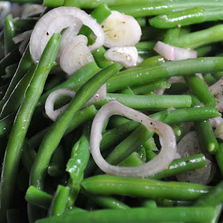 Skinny Green Beans with Shallots