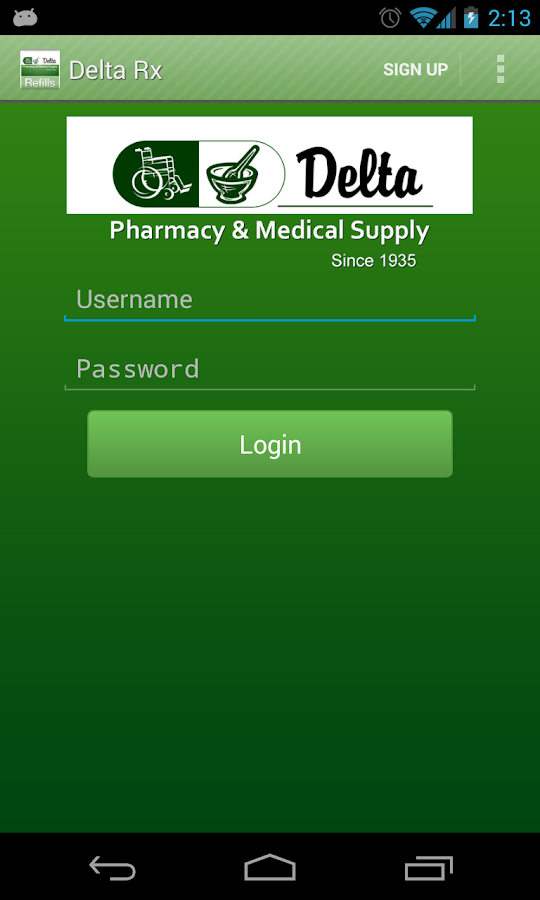 Delta Rx- screenshot