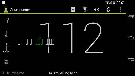 Andronome+ the Great Metronome - screenshot thumbnail