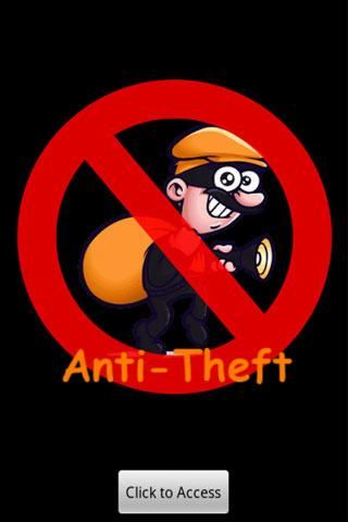 AntiTheft - screenshot