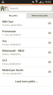 Naviki – the bicycle satnav - screenshot thumbnail