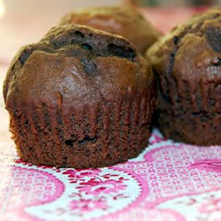 Fudgy Chocolate Chip Muffins.