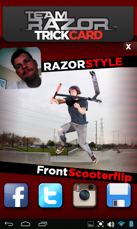 Razor® Trickshare- screenshot