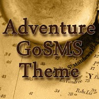GoSMS Adventure Theme 1.0.1