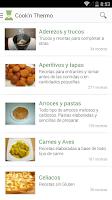 Screenshot of Cook'n Thermo: Recetas TMX