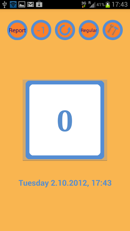 ManaMana-Meeting Tally Counter - screenshot