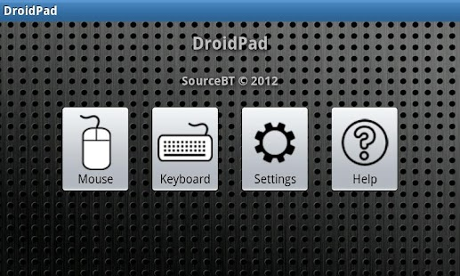 DroidPad - screenshot thumbnail