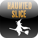 Haunted Slice logo
