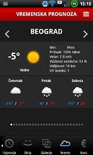 Blic- screenshot thumbnail