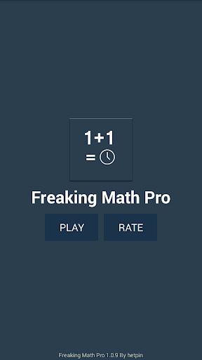 Freaking Math Pro