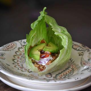 Quinoa Taco Lettuce Wraps.
