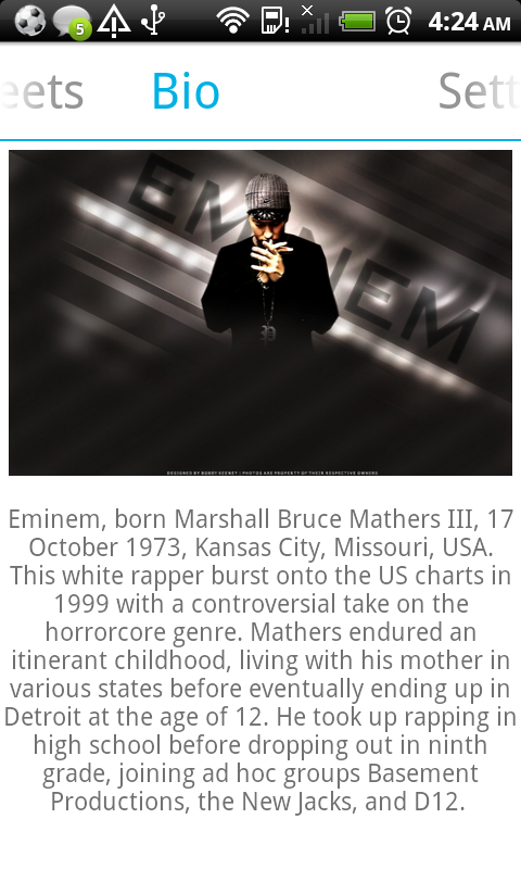 Eminem - screenshot