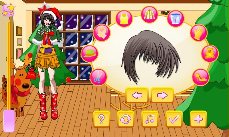 Anime Christmas Dress Up - screenshot