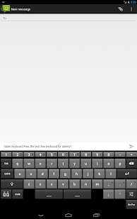 Tablet Keyboard Free - screenshot thumbnail