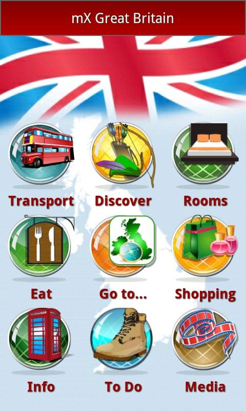 mX Great Britain: Top UK Guide - screenshot