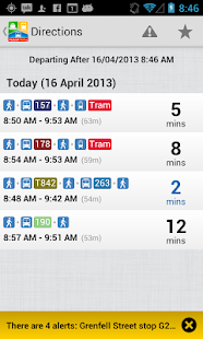 TransitTimes+ - screenshot thumbnail