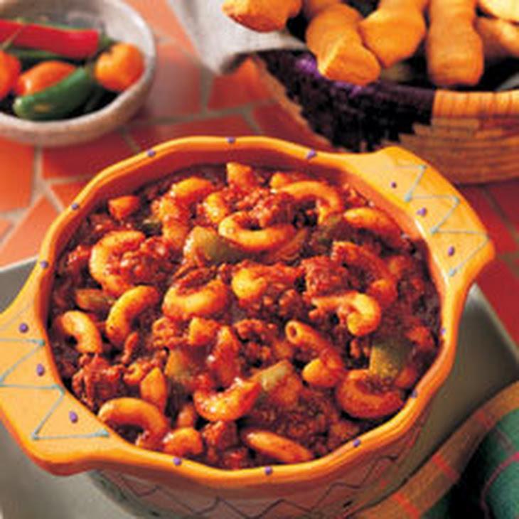 Ragu Beef Chili Mac
