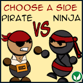 Pirate Vs Ninja Lite