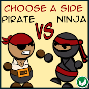 Pirate Vs Ninja Lite