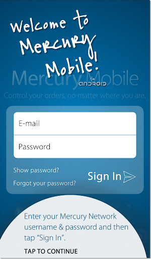 Mercury Mobile for Android