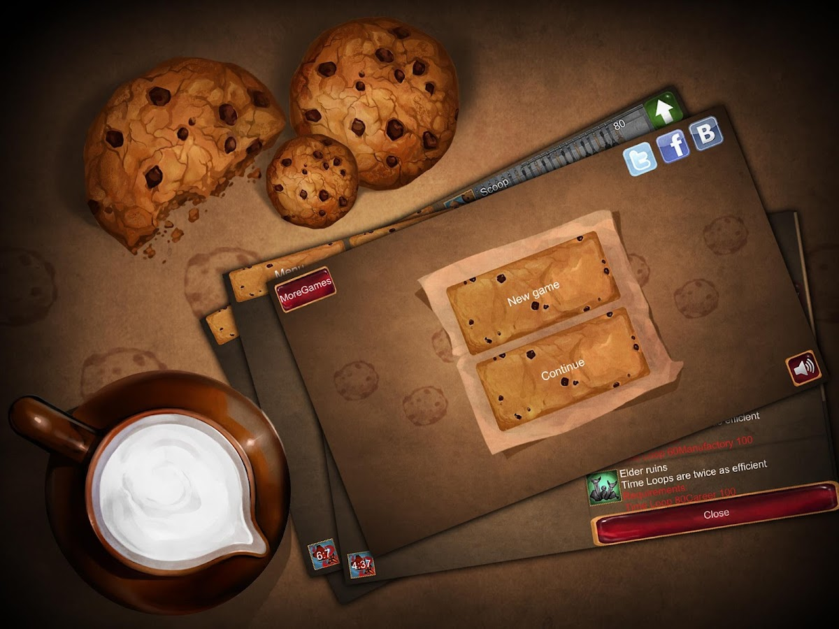 Tap the Cookie!- screenshot