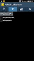 Screenshot of Auto WiFi 3G Data Switch