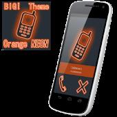 BIG! caller ID Theme NeonOrng