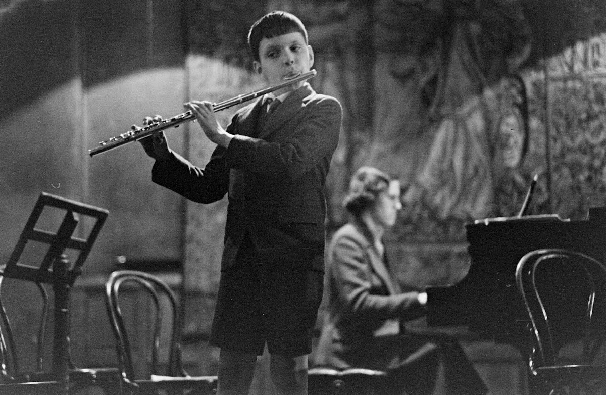 Mannes Music School Recital-New York-Spring 1937