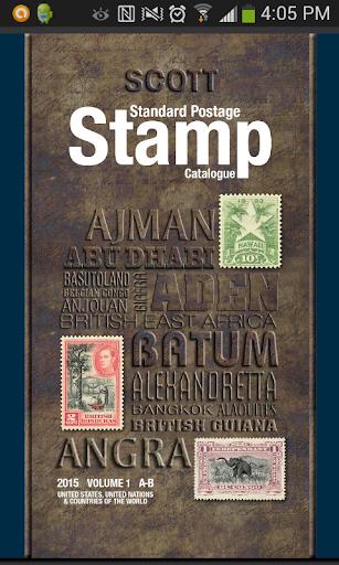 Scott Postage Stamp Catalogue