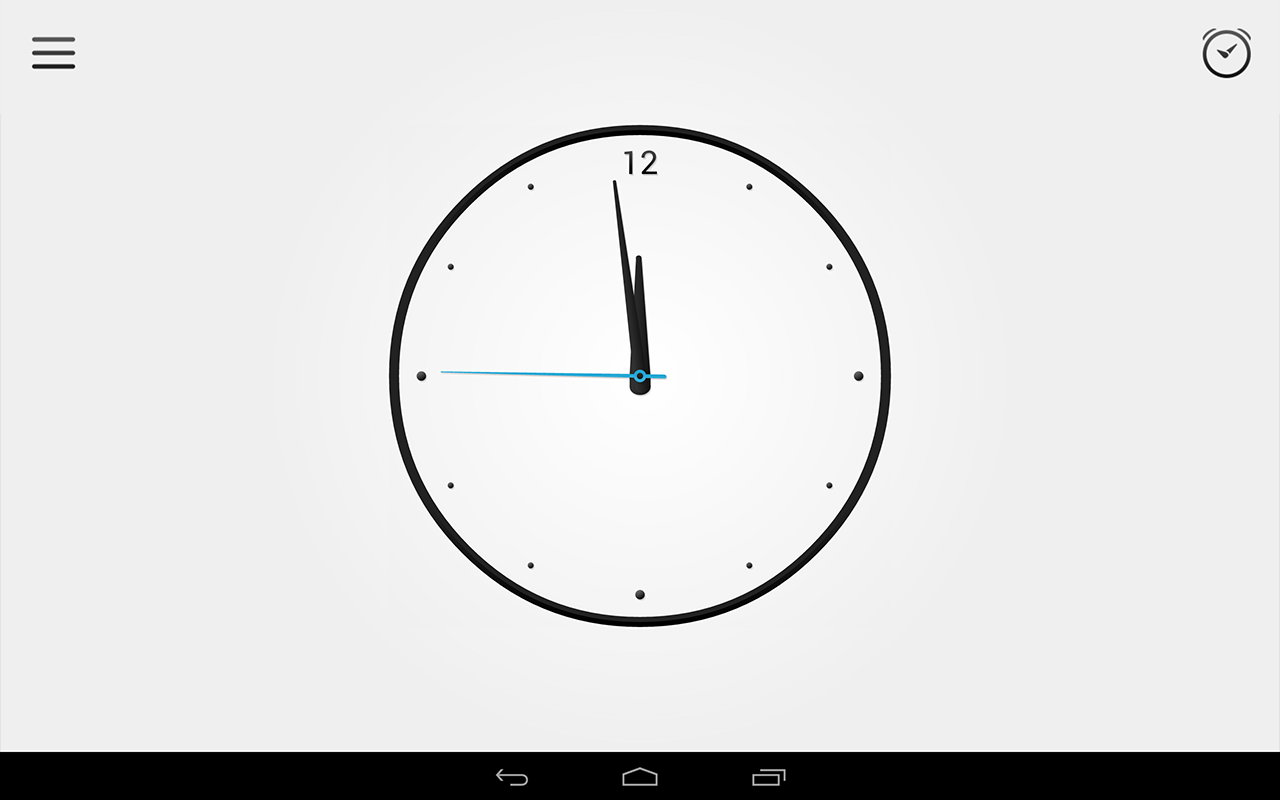 Alarm Clock- screenshot