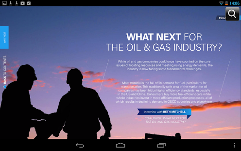 Focus on Oil & Gas - screenshot thumbnail