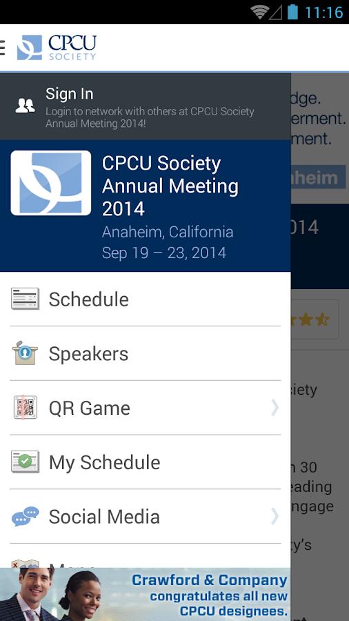 CPCU Society Annual Meeting - screenshot