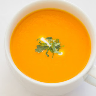 Healthy Carrot Ginger Soup